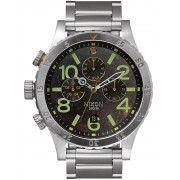Ceas barbatesc Nixon A486-1956 48-20 Chrono 48mm 20ATM