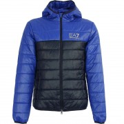 Giorgio Armani EA7 Emporio Armani Men Hooded Light Jacket mazarine blue