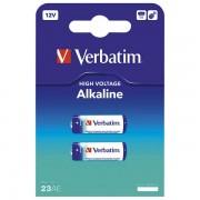 Baterija alkalna 12V MN21/A23 pk2 Verbatim 49939 blister 000021650