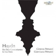 Video Delta Haydn, Joseph / Petrucci,Ginevra - Six Duo Concertantes For Two Flutes - CD