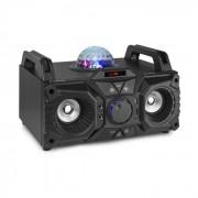 Fenton KAR100, sing station, 100 W, akkumulátor, USB, bluetooth, AUX bemenet, fekete (Sky-178.340)