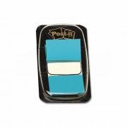 Index Post-It 3M, plastic, bleu