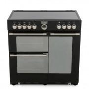 Stoves Sterling 900E Black 90cm Electric Ceramic Range Cooker