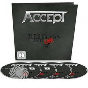 Video Delta ACCEPT - RESTLESS & LIVE - Blu-Ray