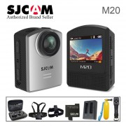 SJCAM M20/M20 Air Mini cámara de acción deportiva submarina 4K Wifi Gyro Mini videocámara 16MP impermeable SJCam deporte DV Recorder(#M20 silver)(#option 3)