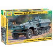 Armored carrier Sd.Kfz. 251/1 Hanomag katonai jármű makett Zvezda 3572