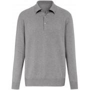 Peter Hahn Polo-Pullover aus 100% Kaschmir Modell Paul Peter Hahn Cashmere weiss
