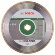 Диск диамантен за рязане Standard for Ceramic, 250 x 30+25,40 x 1,6 x 7 mm, 1 бр./оп., 2608602539, BOSCH