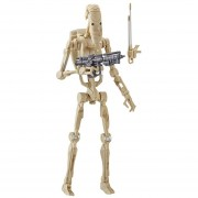 Figura Hasbro Star Wars Black Episodio I Battle Droid (F)(L)