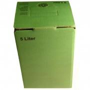 Geissler Bag in Box Karton grün 5l