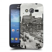 Husa Samsung Galaxy Core 4G LTE G386F Silicon Gel Tpu Model Vintage City