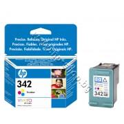 Касета HP 342, Tri-color, p/n C9361EE - Оригинален HP консуматив - касета с глава и мастило