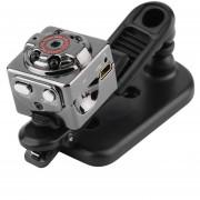 ER SQ8 Mini Cámara DV 1080p Full HD Camcorder DVR Dash Cam 12MP Visión Nocturna -Negro
