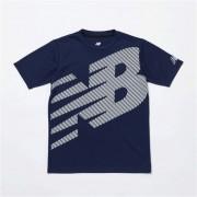 【ニューバランス公式】 ≪ログイン購入で最大8%ポイント還元≫ スーパービッグロゴ Tシャツ キッズ > アパレル > トレーニング > トップス ブルー・青 ニューバランス newbalance