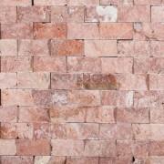 Travertin Rosu Scapitat 5x2.5x2 cm