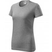 ADLER Classic New Dámské triko 13312 tmavě šedý melír L