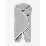 Manta RED CASTLE Babynomade® Tendresse, polar, 2 tamanhos, desde o nascimento até aos 12 meses cinzento claro liso