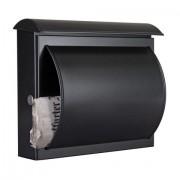 Heibi Briefkasten Quelo schwarz 64158-028;