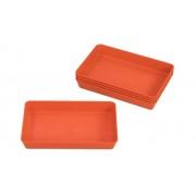 treeNside Materialschalen, 5 Stück, Farbe und Grösse wählbar