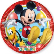 Set 8 farfurii mari Mickey Mouse Clubhouse
