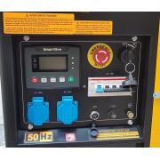 Stager YDE12E3 Generator open frame diesel trifazat, 8kW, pornire la cheie