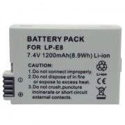 KWS LP-E8 bateria compatible de 7.4V 1150mah para el canon EOS 550D