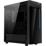 CASE, Gigabyte C200G RGB, Mid Tower, Black /no PSU/
