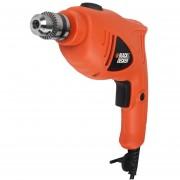 Taladro Percutor Black Decker 550w 48000ipm 3000rpm Hd400 - Naranja