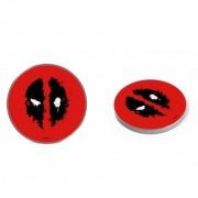 Marvel vezeték nélküli töltő - Deadpool 002 micro USB adatkábel 1m 9V/1.1A 5V/1A (MCHWDPOOL002)