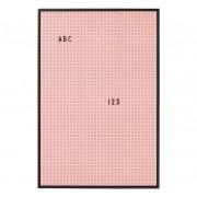 Design Letters Anslagstavla A2, Pink