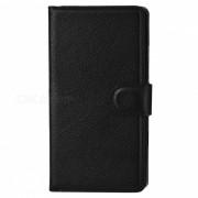 Carcaas con stand y ranura para tarjetas para Nokia Lumia 930 -Negro