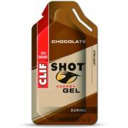 CLIF Bar Shot Gel Sportvoeding met basisprijs Chocolate 34g bruin 2017 Sportvoeding