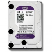 "Western Digital WD20PURX Disco Duro Interno, SATA III, 2000 GB, 3.5"", Color Metálico"