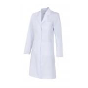 Bata 539002 de mujer entallada de manga larga. Velilla