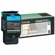 Toner Lexmark C544X1CG cyan, C544/X544 4.0k