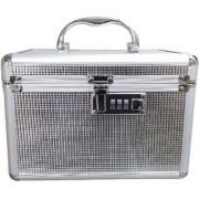 Pride Ammy to store cosmetics Vanity Box (Silver)
