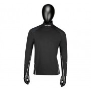 Bauer Premium Neck LS Top Youth, S, Svart