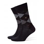 Burlington Edinburgh Socks Black 21182