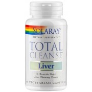 Solaray Total Cleanse Liver - 60 Capsule