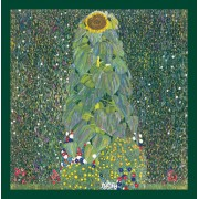Poster Floarea soarelui de Klimt inramat, 60x80 cm
