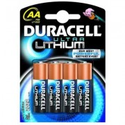 Duracell Ultra LITHIUM LF1500, LR6, AA - комплект 4 батерии