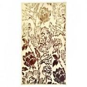 Covor Decorino, Floral, polipropilena, C-020168, 60x110 cm, Bej