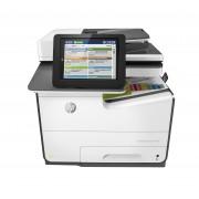 HP PageWide Enterprise Color MFP 586dn - Impressora multi-funções - a cores - matriz de largura de página - A4 (210 x 297 mm),