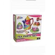 Tea Set Miniature Paint your own set porcelain