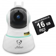 Camara Ip Inalambrica Full Hd Mas Micro Sd 16 Casa Preset 360 X App