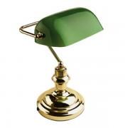 LAMPA BIROU E27/60W VERDE HL-090