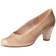 Aerosoles Women's Shore Thing Dress Pump, Nude Patent, 7.5 M US