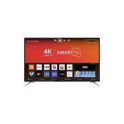 Smart TV 50'' AOC Le50u7970s Ultra HD 4k Uhd Conversor Digital 4 HDMI 2 USB Wi-Fi 60hz