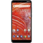 Nokia 3.1 Plus con Android One (32 GB, 3 GB) 6 pulgadas HD+, desbloqueo facial, Dual SIM GSM desbloqueado Global 4G LTE (T-Mobile, AT&T, Metro, Straight Talk) Modelo internacional TA-1113 (negro)