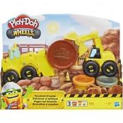 Set de joaca PLay- Doh, Excavator si incarcator